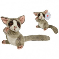 NICOTOY Peluche Galago assis - 17 cm