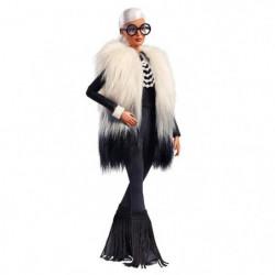 BARBIE - Barbie Stylisée par Iris Apfel - Veste Fourrure