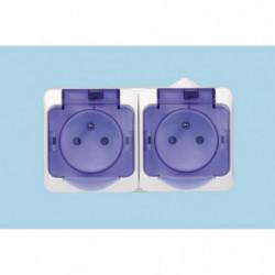 SCHNEIDER ELECTRIC - SC5SHN0212440 CEDAR - Double prise
