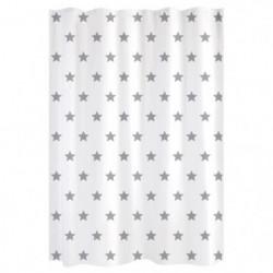 GELCO DESIGN Rideau de douche - 180x200 cm - Motif étoile