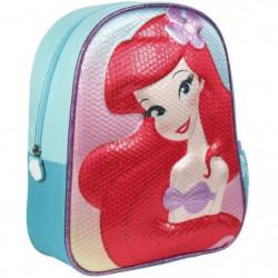 DISNEY Sac a Dos 3D Princesse Enfant