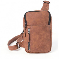 RIP CURL Sac a Bandouliere Marron Homme