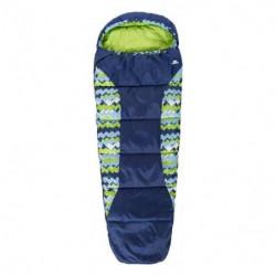 TRESPASS Sac de couchage Bunka - Enfant - Bleu