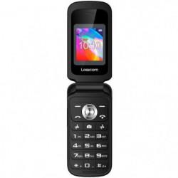 LOGICOM Le FLEEP Feature Phone Noir 32 Mo