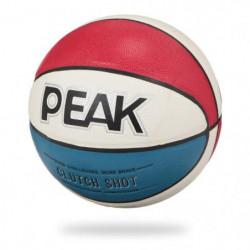 PEAK Ballon de basketball Tricolore - Taille 5