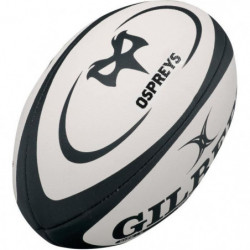 GILBERT Ballon de rugby Replica Ospreys T4