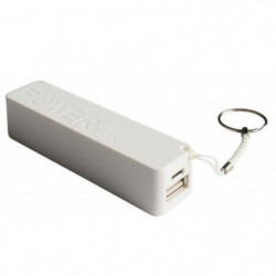 Mobility Lab Powerbank/Batterie de secours 2400 mAh - Blanc