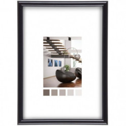 Cadre photo Expo noir 40x50 cm - Ceanothe, marque française