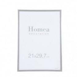 HOMEA Cadre photo Harmonie 21x29,7 cm Gris