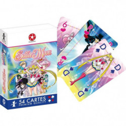 WADDINGTONS N°1 - Sailor Moon - Jeu de 54 cartes