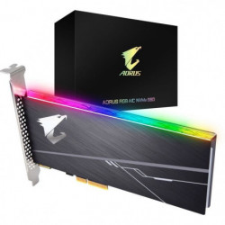 GIGABYTE - Disque SSD Interne - Aorus RGB - 512Go
