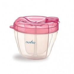 NUVITA Récipient lait en poudre bébé - Rose