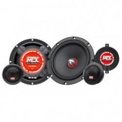 MTX Haut-parleurs kit 2 voies TX465S - 16,5 cm - 80W