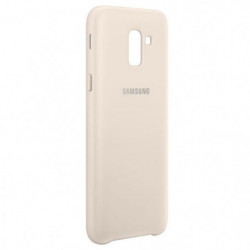 Samsung Coque double protection J6 - Or