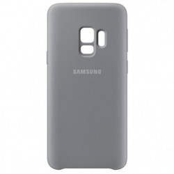 Samsung Coque Silicone S9 - Gris