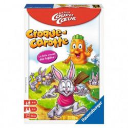 RAVENSBURGER Jeu de Société Croque Carotte (Format Pocket)