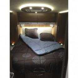 INCASA Lit pour Camping-car Cosy - 140 x 190 cm