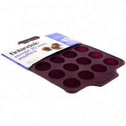 FINLANDEK Moule 20 mini muffins silicone