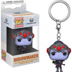 Porte-clés Funko Pocket Pop! Games: Overwatch: Widowmaker