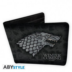 Portefeuille Game Of Thrones - Stark - Vinyle - ABYstyle