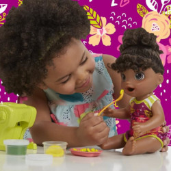 BABY ALIVE - Snacking pasta Baby (cheveux noirs)