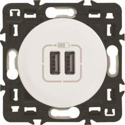 LEGRAND Prise double chargeur USB Céliane