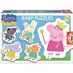 PEPPA PIG Puzzle Baby Peppa Pig - 24 pieces