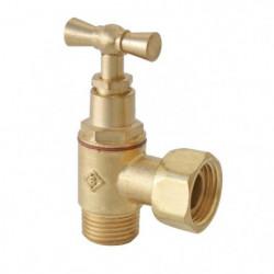SOMATHERM Robinet WC - Équerre à presse-étoupe - En laiton 102263
