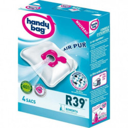 HANDY BAG R39 Lot de 4 sacs aspirateur MicroPor Plus