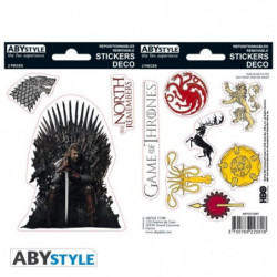 Stickers Game Of Thrones - 6x11cm  / 2 planches