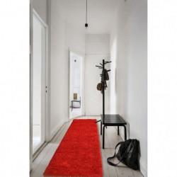 TRENDY Tapis de couloir Shaggy en polypropylene - 80 x 300 cm