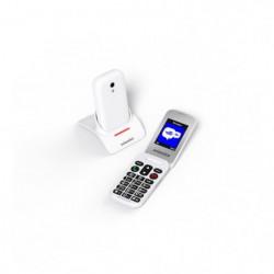 SWISSVOICE S24 - Téléphone mobile débloqué 2G à clapet
