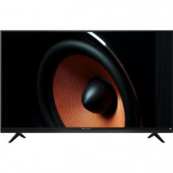 "CONTINENTAL EDISON TV LED HD 80cm (32"") avec barre de son JBL"