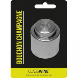 Bouchon a Champagne conservateur - Argenté
