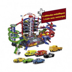 MAJORETTE - Super City Garage 128 cm largeur 78cm hauteur