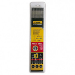STANLEY 460820  Lot de 50 électrodes rutiles acier - Ø 2 mm