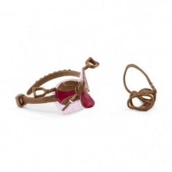 SCHLEICH - Figurine 42490 Selle & bride Horse Club Sofia & Blossom