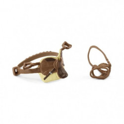 SCHLEICH - Figurine 42492 Selle & bride Horse Club Sarah & Mystery