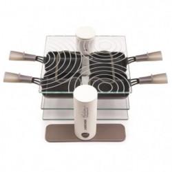 LAGRANGE Raclette Transparence 009404 - 600 W - Verre trempé