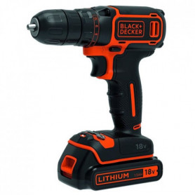 BLACK & DECKER Perceuse visseuse sans fil BDCDC18