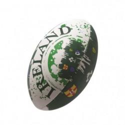 GILBERT Ballon de rugby FLAG SUPPORTER - Irlande - Taille 5