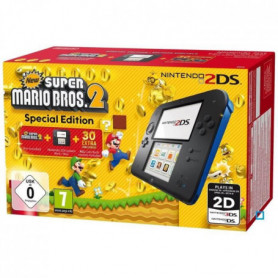 2DS Bleue + New Super Mario Bros 2
