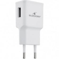 BLUESTORK Chargeur Secteur 1 USB - 2.1A - Blanc