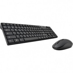BLUESTORK Pack Souris Clavier sans fil - Compatible Windows