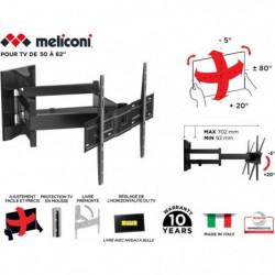 MELICONI 480867 Support mural TV pantographe Slim600 SDRP PLUS