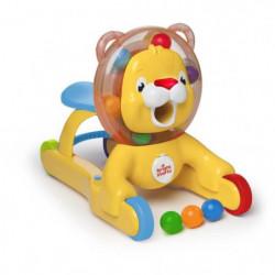BRIGHT STARTS Jouet 3-en-1 Lion Step & Ride