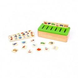 BSM  -  Mini boite de tri systeme Montessori