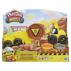 PLAY-DOH Wheels ? Pâte A Modeler - Pelleteuse et Bulldozer