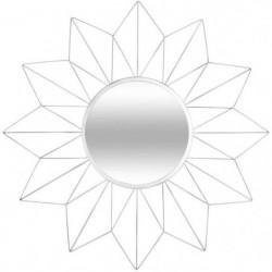 ATMOSPHERA Miroir en forme d'étoile - Métal, verre et carton
