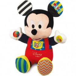 CLEMENTONI Disney Baby - Peluche d'activités Mickey